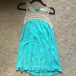 Blue Altar'd State sun dress